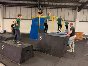 Eagle Cubs - Parkour Dec 2018