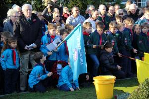 Scouts Beacon Hill 2018 Remembrance Sunday Service (104)