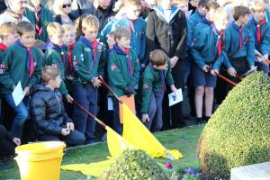 Scouts Beacon Hill 2018 Remembrance Sunday Service (105)