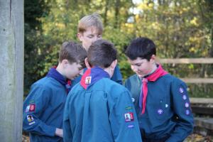 Scouts Beacon Hill 2018 Remembrance Sunday Service (2)