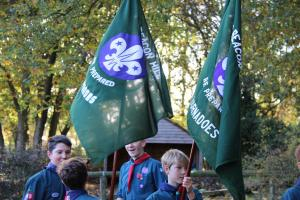 Scouts Beacon Hill 2018 Remembrance Sunday Service (30)