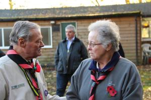 Scouts Beacon Hill 2018 Remembrance Sunday Service (35)