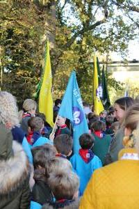 Scouts Beacon Hill 2018 Remembrance Sunday Service (37)