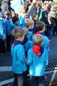 Scouts Beacon Hill 2018 Remembrance Sunday Service (44)