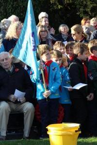Scouts Beacon Hill 2018 Remembrance Sunday Service (53)