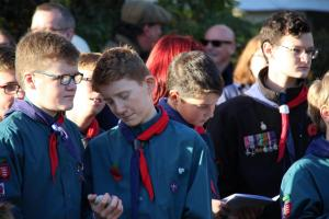 Scouts Beacon Hill 2018 Remembrance Sunday Service (57)