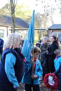 Scouts Beacon Hill 2018 Remembrance Sunday Service (6)