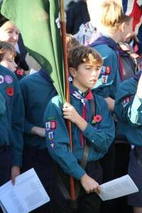 Scouts Beacon Hill 2018 Remembrance Sunday Service (61)