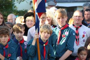 Scouts Beacon Hill 2018 Remembrance Sunday Service (73)