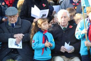 Scouts Beacon Hill 2018 Remembrance Sunday Service (77)